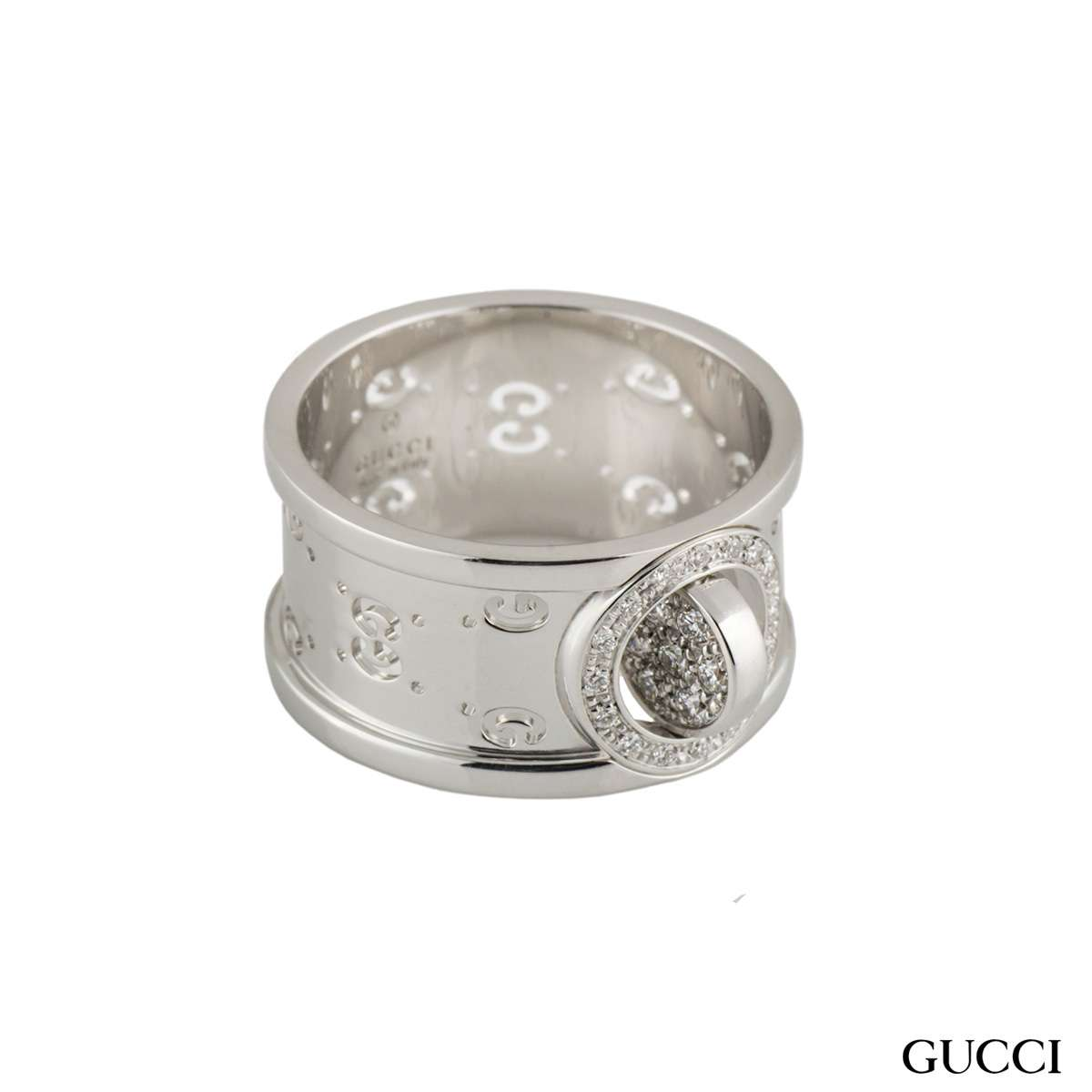 5f8c8c6d4 Gucci Twirl Diamond Set Ring - Rich Diamonds Of Bond Street